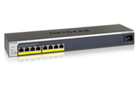 Netgear GS408EPP Managed network switch L3 Gigabit Ethernet (10/100/1000) Power over Ethernet (PoE) 1U Black