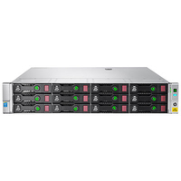 Hewlett Packard Enterprise StoreEasy 1650 NAS Rack (2U) Ethernet LAN Zwart, Metallic