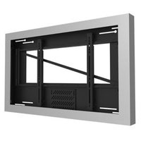 "Peerless KIL648-S 48"" Silver flat panel wall mount"