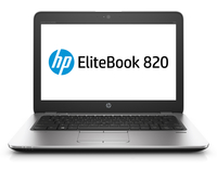 "HP EliteBook 820 G4 2.70GHz i7-7500U 12.5"" 1920 x 1080Pixels 3G 4G Zilver Notebook"