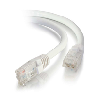 C2G 15m Cat5e Booted Unshielded (UTP) Network Patch Cable - White