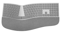 Microsoft Surface Ergonomic Bluetooth Grey keyboard