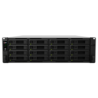 Synology RS4017xs+ NAS Rack (3U) Ethernet LAN Zwart, Grijs