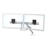 "Ergotron 45-476-216 32"" Bolt-through White flat panel desk mount"