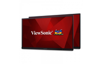 "Viewsonic VG2453_H2 Digital signage flat panel 24"" LED Full HD Black signage display"