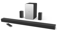 VIZIO SB3651-E6 Wired & Wireless 5.1channels Black,Silver soundbar speaker