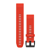 Garmin QuickFit 22 Band Red Silicone