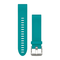 Garmin QuickFit 20 Band Turquoise Silicone