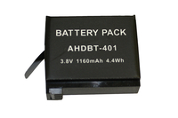 BTI GPRO-AHDBT-401 Lithium-Ion 1160mAh 3.8V rechargeable battery