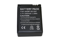 BTI GPRO-AHDBT-201-301 Lithium-Ion 1050mAh 3.7V rechargeable battery