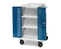 Bretford CORE24MSBP-90D Portable device management cart Blue,White portable device management cart & cabinet