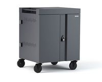 Bretford TVC16PAC-CK Portable device management cart Charcoal portable device management cart & cabinet