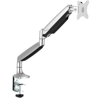 "StarTech.com ARMPIVOTHD 32"" Clamp Silver flat panel desk mount"
