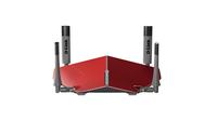 D-Link AC3150 Dual-band (2.4 GHz / 5 GHz) Gigabit Ethernet Grey,Red wireless router