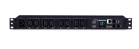 CyberPower PDU81005 8AC outlet(s) 1U Black power distribution unit (PDU)