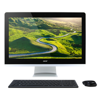 "Acer Aspire Z3-715 2.4GHz i5-7400T 23.8"" 1920 x 1080pixels Black,Silver All-in-One PC"