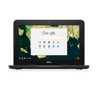 "DELL Chromebook 3180 1.6GHz N3060 11.6"" 1366 x 768pixels Black Chromebook"