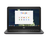 "DELL Chromebook 3380 1.6GHz 3855U 13.3"" 1366 x 768pixels Black Chromebook"