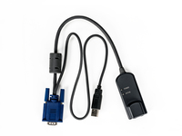 Vertiv HIGH-RES/VM/CAC/USB2HS IQ MODULE 32PACK Black, Blue cable interface/gender adapter