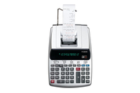 Canon MP25DV-3 Desktop Printing calculator Silver calculator