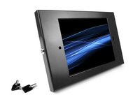 "Maclocks 260ENB 9.7"" Black tablet security enclosure"