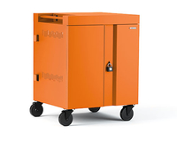 Bretford CUBE Cart Portable device management cart Orange