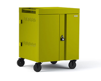 Bretford CUBE Cart Portable device management cart Green