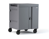 Bretford CUBE Cart Portable device management cart Platinum