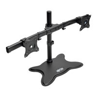 "Tripp Lite DDR1327SDD 27"" Black flat panel desk mount"