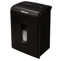 Fellowes MicroShred 10MC Micro-cut shredding Black paper shredder