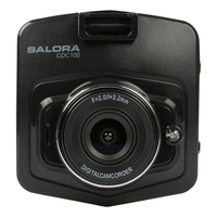 Salora CDC100 Full HD Zwart dashcam