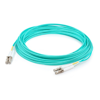 Add-On Computer Peripherals (ACP) ADD-LC-LC-30M5OM4-TAA 30m LC LC Turquoise fiber optic cable