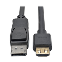 Tripp Lite P582-006-HD-V2A 1.8m DISPLAYPORT HDMI Black video cable adapter