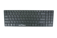Seal Shield Cleanwipe USB QWERTY US English Black keyboard