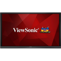 "Viewsonic IFP7550 Digital signage flat panel 75"" LCD 4K Ultra HD Black signage display"
