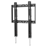 "Peerless SFP680 90"" Black flat panel wall mount"