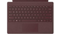 Microsoft Surface Pro Signature Type Cover Microsoft Cover port QWERTY US English Burgundy mobile device keyboard