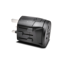 Kensington K38237WW Black power plug adapter
