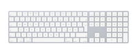 Apple MQ052D/A Bluetooth QWERTZ Allemand Blanc clavier