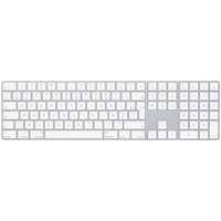 Apple MQ052F/A Bluetooth AZERTY Français Blanc clavier