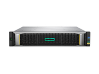 Hewlett Packard Enterprise MSA 2050 SAN NEBS Certified DC Power SFF Rack (2U) Zwart, Zilver disk array