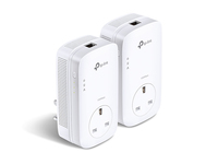 TP-LINK TL-PA8010P KIT V2 Ethernet LAN White 2pc(s) PowerLine network adapter