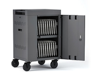 Bretford TVCM20PAC-CK Portable device management cart Charcoal portable device management cart & cabinet