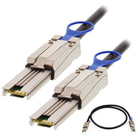 Add-On Computer Peripherals (ACP) ADD-SFF8088-8088-10M 10m SFF-8088 SFF-8088 Black InfiniBand cable