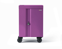 Bretford CUBE Cart Mini Portable device management cart Purple