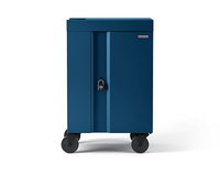 Bretford CUBE Cart Mini Portable device management cart Blue