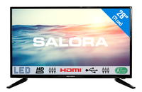 "Salora 1600 series 28LED1600 28"" HD Zwart LED TV"
