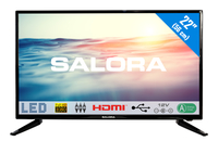 "Salora 1600 series 22LED1600 22"" Full HD Zwart LED TV"