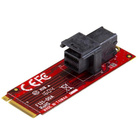 StarTech.com M2E4SFF8643 Internal U.2 interface cards/adapter