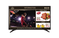 "LG 55LV640S 55"" LED Full HD Wi-Fi Black signage display"